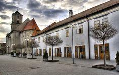 Pezinok, Radnicne square, town center...