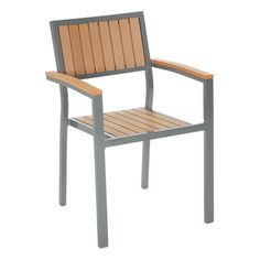 Cosco Outdoor Arms and Vertical Slats Stack Chair (Set of 2) | Overstock.com Shopping - Big Discounts on Cosco Dining Chairs