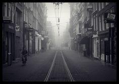 A quiet Leidsestraat.