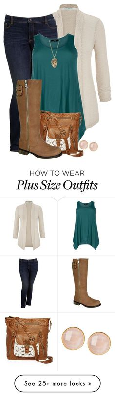 """""""Untitled #875"""" by menthienicole on Polyvore featuring maurices, Old Navy, T-shirt & Jeans, Zad and Saachi"""