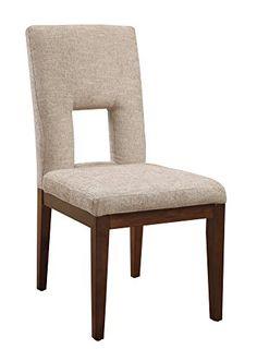 Emerald Home Furnishings Studio Dining Chair, Standard, Warm Maple Finish