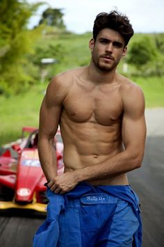 Caio Cesar as John Male Pinup, Russian American, Tall Guys, Tan Skin, Hottest Pic, Man Alive, Male Body, Pretty Boys, Gorgeous Men