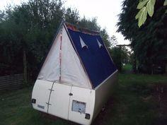 Vintage 1960's Motent VW Trailer Tent | eBay