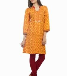 Buy Dorabella Women's Designer Cotton Kurti  [N1207A] kurtas-and-kurti online