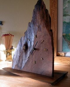 Slab Clock: from Trash to Treasure - Lumberjocks