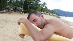 Me in a total-Zen-state...Bangniang, Khaolak, Thailand.