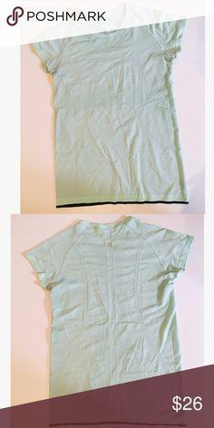 Lululemon athletica Swiftly Tech T Shirt Great condition. Sea foam green. lululemon athletica Tops Tees - Short Sleeve