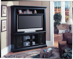 The homeowner wanted a built-in corner entertainment center like it had always been part of the house. Description from houseplanse.net. I searched for this on bing.com/images