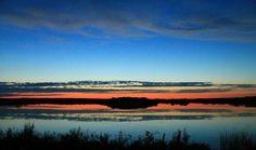 Haunted Lake Sunset