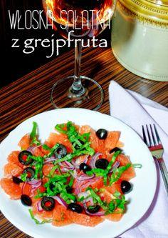 Włoska sałatka z grejpfruta