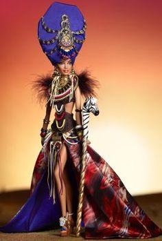 BARBIE CE BEAUTIFUL DOTW KENYAN DRESS CLOTHES NEW WILL FIT SILKSTONE