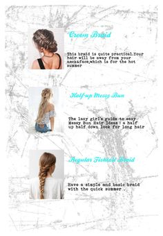 Designer Clothes, Shoes & Bags for Women Easy Messy Bun, Half Up Half Down, Bun Hairstyles, Round Sunglasses, Braids, Long Hair Styles, Face, Polyvore, Top