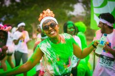 The Color Run is heading to the Jacaranda City! Read our latest blog for more details. #MedihelpFunFitHealthy Port Elizabeth, Health Articles, Running, City, Healthy, Fitness, Blog, Fun, Keep Running