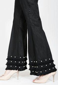 Salwar Designs, Kurti Designs Party Wear, Blouse Designs, Trousers Women, Pants For Women, Salwar Pants, Kurti Sleeves Design, Stylish Dresses For Girls, Designer Party Wear Dresses