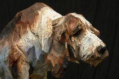 Скульптор из Германии Юрген Лингл-Ребетез (Jürgen Lingl-Rebetez) начинал как живописец, но со временем стал работать с древесиной и превратился в настоящего мастера по дереву. Его брутальные работы, с...
