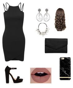 """Date night"" by ella-mair on Polyvore featuring LULUS, John Lewis, Richmond & Finch and AX Paris"