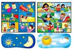 noc a den Sistema Solar, I Love School, Pre School, Good Night Moon, Day For Night, Learning Activities, Kids Learning, Petite Section, Teaching Time