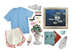 """""""museum"""" by kampow ❤ liked on Polyvore featuring Southern Tide, Chanel, NARS Cosmetics, Arabia and NIKE"""