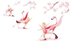 Flora and the Flamingo- pages 30 & 31 Limited Edition Signed Print