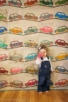 """Sweet Ride"" quilt pattern by Edyta Sitar, posted at Laundry Basket Quilts Blog.  The pattern can be found at www.laundrybasketquilts.com/Shop/shopindex.htm"