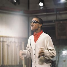 "Stevie Wonder by David Redfern (when he was ""little Stevie Wonder"")"