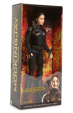 Mattel 'Barbie The Hunger Games: Mockingjay Part 2 - Katniss' Doll