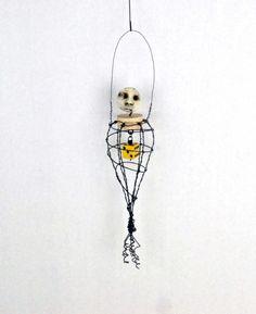 Wire Art Doll