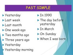 Slide 2 of 8 of Time expressions present perfect past simple Simple Past Tense, Simple Present Tense, Activities For Adults, English Activities, English Idioms, English Vocabulary, Preterit Anglais, Pasado Simple, Present Continuous Tense
