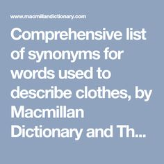 Macmillan Dictionary, Champagne, Chic, Words, Clothes, Shabby Chic, Outfits, Elegant, Clothing