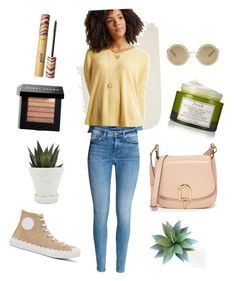 """""""Casual day"""" by marleigh-erin on Polyvore featuring Chloé, MICHAEL Michael Kors, Dolce&Gabbana, Fresh, Bobbi Brown Cosmetics, Chive and tarte"""