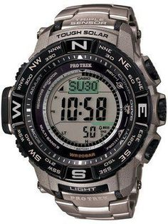 Casio Protrek Digital Atomic Tough Solar Triple Sensor PRW-3500T-7D Watch