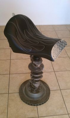 Motorcycle Bar Stool Seat