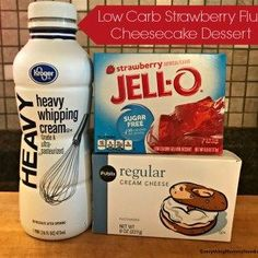 Recipe: Low-Carb Strawberry Fluff Cheesecake Dessert I've been on a low-carb diet for almost a month now. I'm staying under of net carbs a day and I've actually been doing rea… Indulgent Keto Diet Friendly Dessert Recipes Keto Desserts, Desserts Nutella, Keto Snacks, Dessert Recipes, Dessert Ideas, Easy Keto Dessert, Carb Free Desserts, Atkins Desserts, No Carb Snacks
