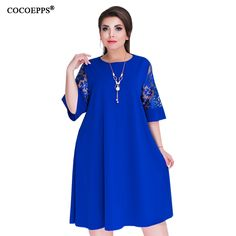 Loose Lace Summer Dresses Knee-Length Office Dress KW  Lalbug  Winter   NewYear 2a48b897444d