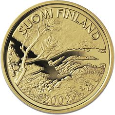 First Finnish gold euro - Mint of Finland Coins, Personalized Items, Finland, Euro, Gold, Rooms, Yellow