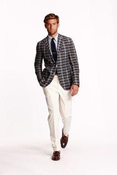 886eceb77c00e Ralph Lauren Spring 2015 Menswear Collection - Vogue Ivy Style