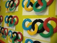 This post is for all my pupils at Southmuir Primary. They produced these fantastic paper Olympic rings . Kids Olympics, Special Olympics, Summer Olympics, Olympic Idea, Olympic Sports, Olympic Games, Art Classroom, Classroom Themes, Olympic Crafts