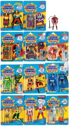 Super Powers action figures