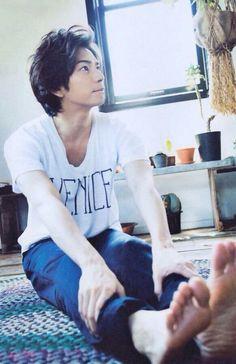 Jun Matsumoto Feet. :)