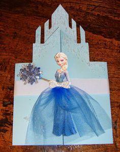 Ideias de Dea: Convite Festa Frozen