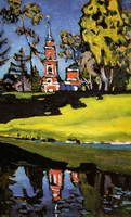 Wassily Kandinsky. Ahtyrka. Red Church, 1908