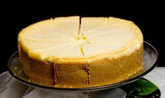 New York Cheesecake - I made this super easy recipe and it was truly delicious.