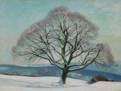 William Rothenstein -Tree in Winter  1916