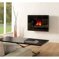 Dimplex Tahoe Wall mounting Opti-myst Electric Fire - TAH20 OMWFC20