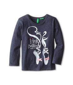 United Colors of Benetton Kids T-Shirt L/S 3QT6C1180 (Toddler/Little Kids/Big Kids) 903 Multi - Zappos.com Free Shipping BOTH Ways