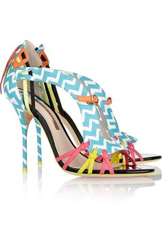 Sophia Webster Liberty printed leather sandals NET-A-PORTER.COM
