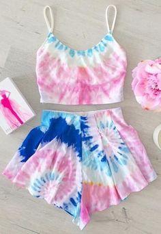 Tie Dye Two Piece Set