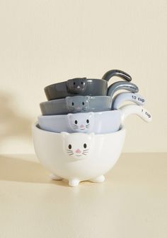 Meow for Measuring Cups, #ModCloth