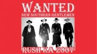 Awesome Kappa Alpha Order Recruitment shirt! Wanted: New Southern Gentlemen!