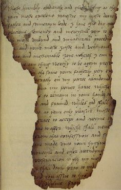MARY TUDOR'S SUBMISSION TO HER FATHER, KING HENRY VIII